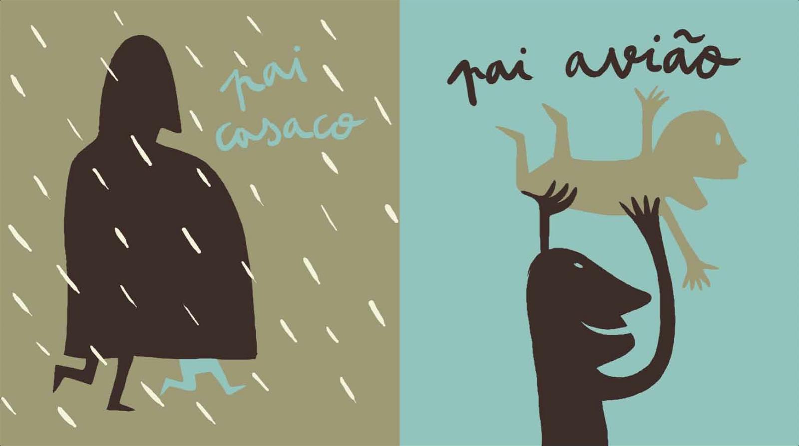 O livro <i>Pê de Pai</i> tem texto de Isabel Minhós e as ilustrações de Bernardo Carvalho