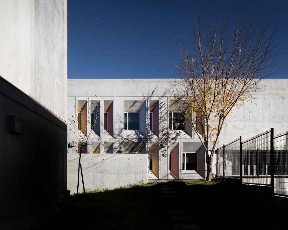 """O projecto é """"uma resposta elegante à topografia do local"""", comentou Javier Quintana, um dos júris."""