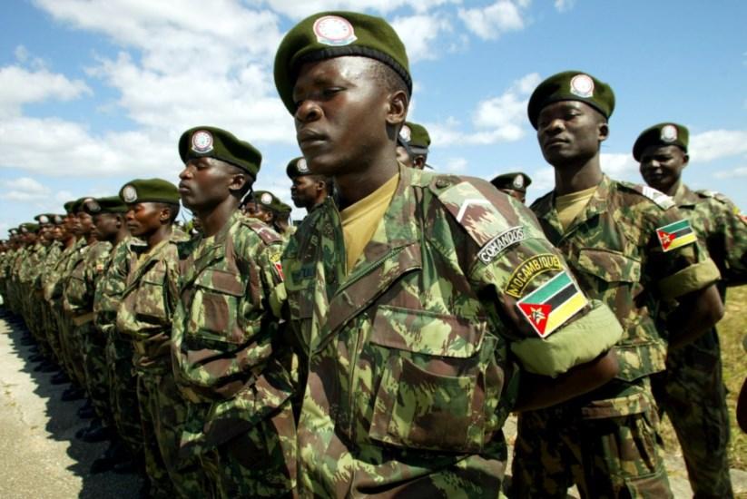 O Exército de Moçambique tomou na segunda-feira a base na Gorongosa onde  estava o d099a89057d