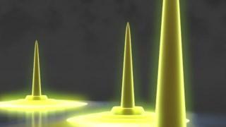 """As novas gotinhas quânticas podem ter """"ondinhas"""""""