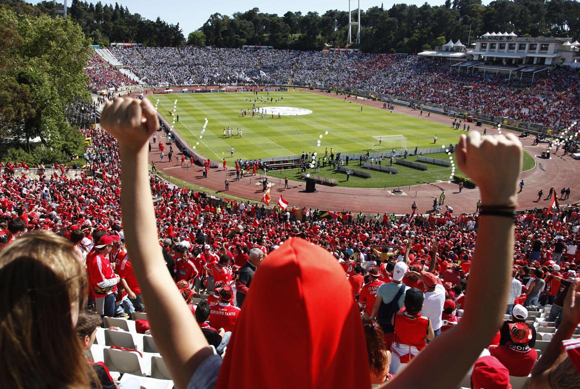 Seguran a no est dio nacional vai ser alterada para o for Puerta 27 estadio nacional