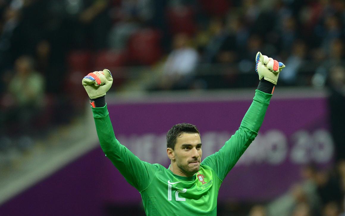 """Futebol Rui Patrcio """"O mais importante é nunca desistir"""""""