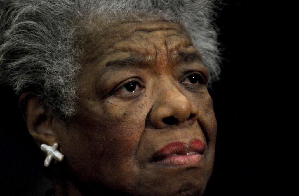 Maya Angelou foi uma das autoras negras mais lidas dos Estados Unidos