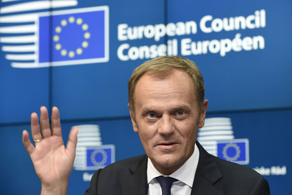Poland fails by 27-1 to oust Donald Tusk as president of the European Council