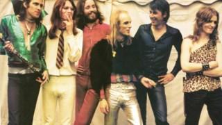 Os Roxy Music no início da década de 1970. Phil Manzanera é o terceiro a contar da esquerda
