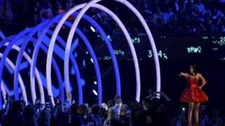 Nicki Minaj conduziu a cerimónia