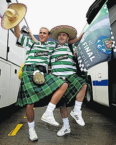 A peregrinação do Celtic a Lisboa  7058d992d8f99