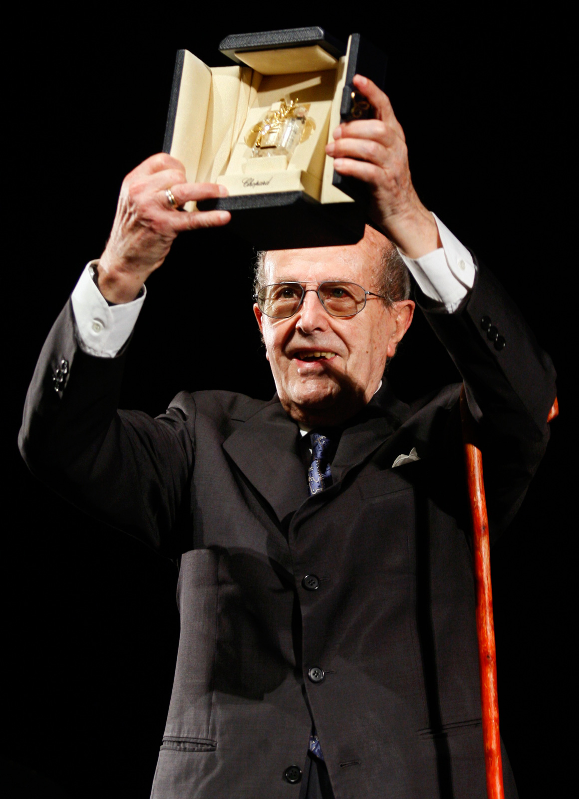 Manoel de Oliveira no Festival de Cannes