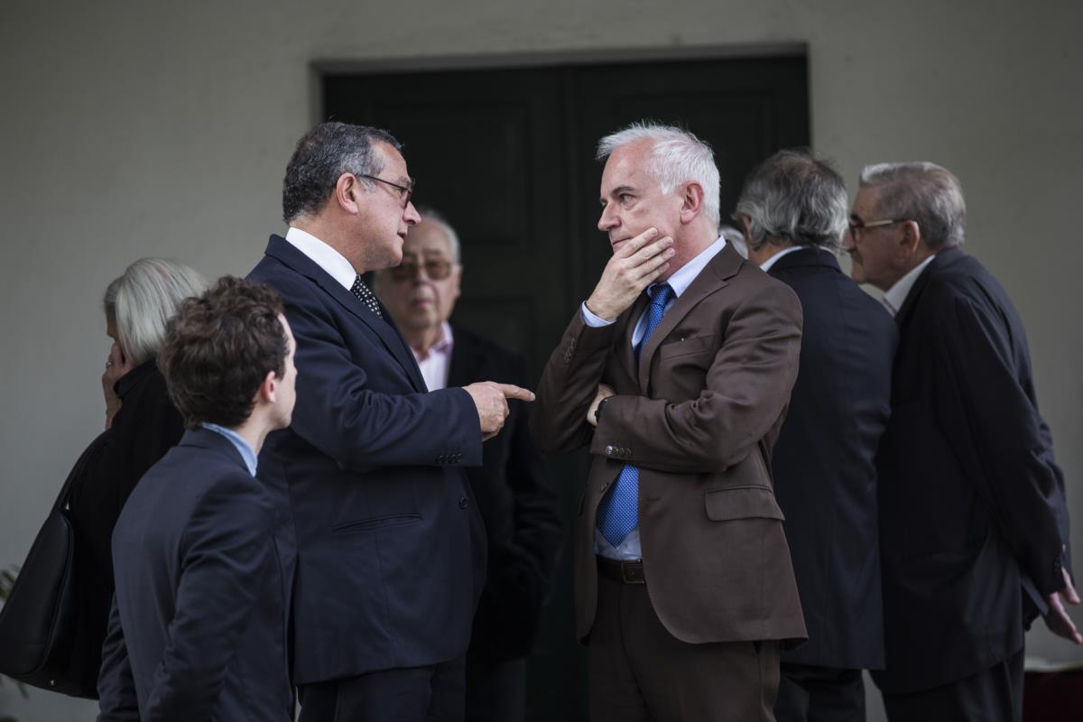 Manuel Cabral, presidente do Instituto dos Vinhos do Douro e Porto, e Paulo Cunha e Silva, vereador da Cultura da Câmara do Porto