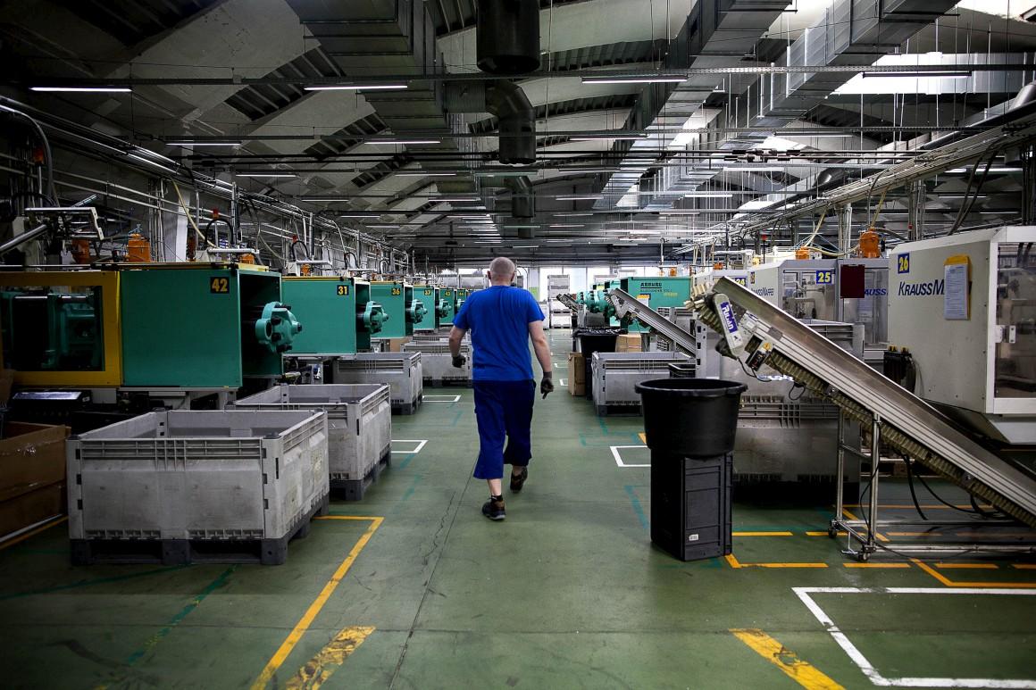 Após o colapso das minas, a indústria floresceu na Baixa Silésia