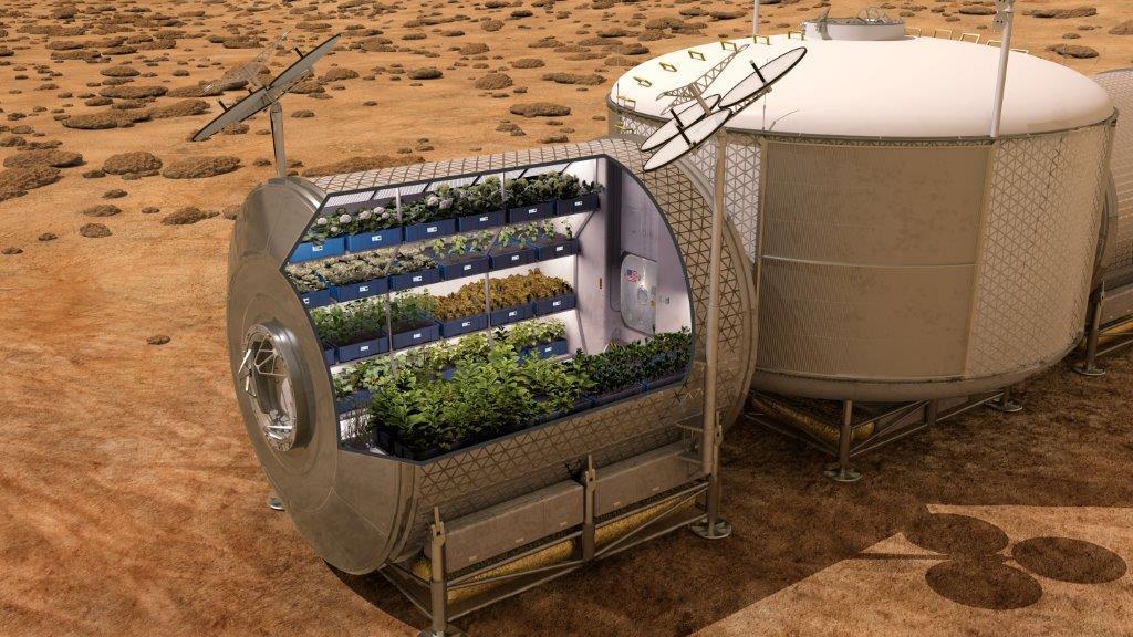 Resultado de imagem para agricultura espacial