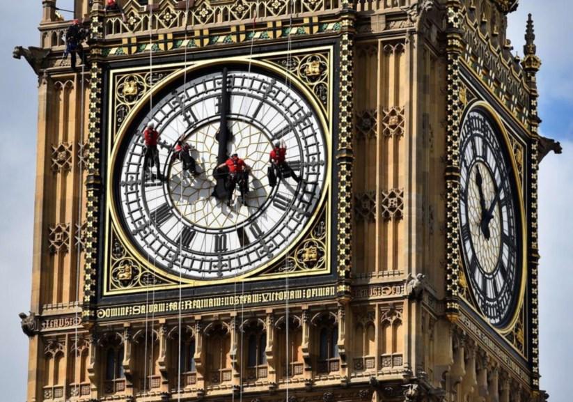 40a2ff807c7 O venerável Big Ben perdeu a sua exactidão. O relógio mais famoso do mundo  ...