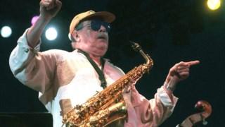 Phil Woods durante um concerto em França, em 1998