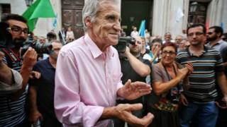 Depois de descer o Chiado, Jerónimo de Sousa fez um jantar-comício em Odivelas e encerrou a campanha com um comício no Seixal.